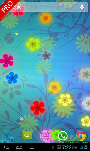 玩個人化App|Flowers Live Wallpaper免費|APP試玩