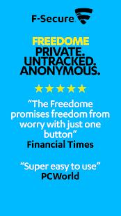 F-Secure Freedome VPN - screenshot thumbnail
