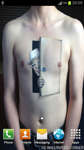 3D Tattoos 4 Man WP