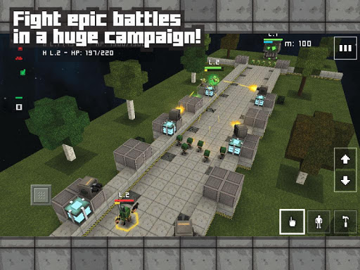 Block Fortress: War v1.00.03.3 [Free Shopping]