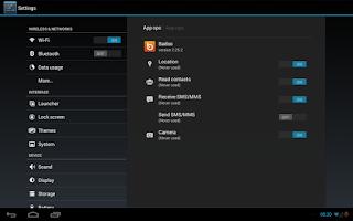 Screenshot of App Ops Starter [kitkat]