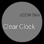 Clear Clock - UCCW Skin