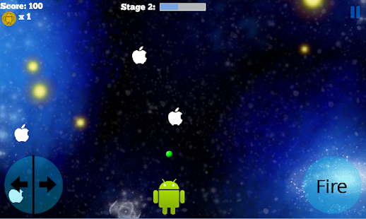 Apple Invaders- screenshot thumbnail