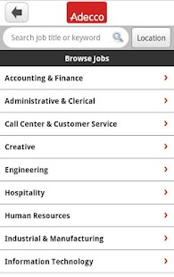 Adecco Jobs - screenshot thumbnail