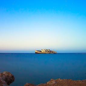 Blues by Ashraf Ahmed Habib - Landscapes Waterscapes