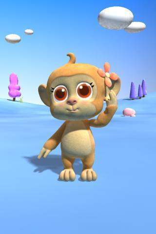 Talking Monkey - screenshot