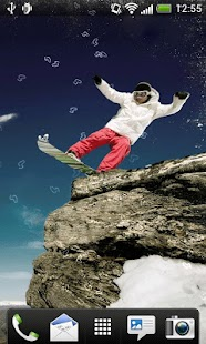 Snowboard Live Wallpaper - screenshot thumbnail