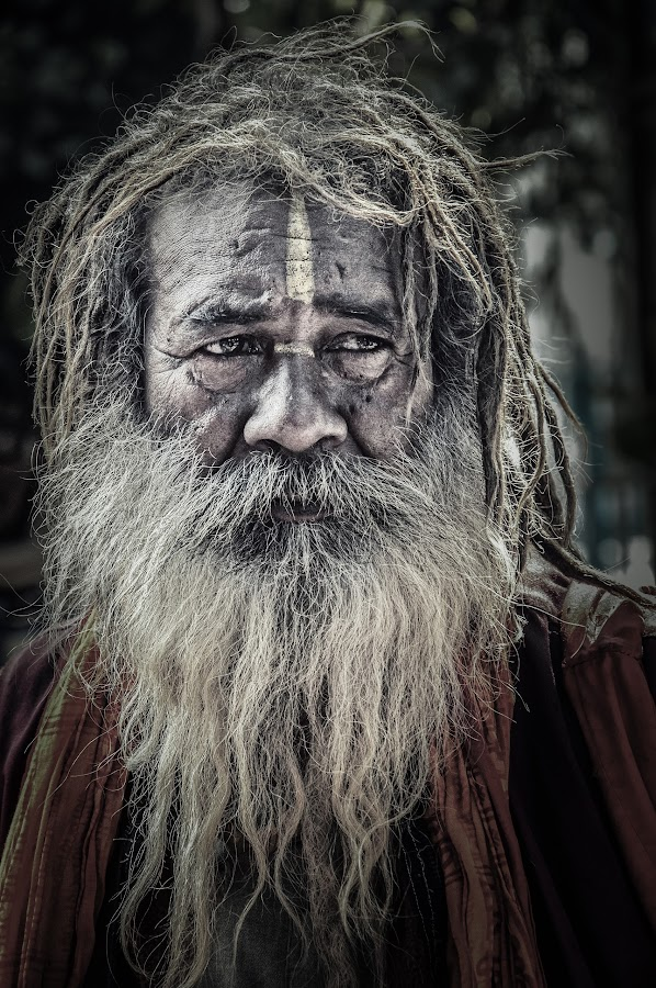 TRUE PILGRIM by Subhojit Mukherjee - People Street & Candids ( monk, street, worship.india )