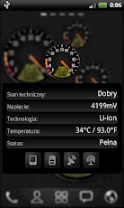 Big Car Speedometer Battery