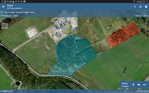 MapIt GIS - GPS Map Surveys & Measurements- screenshot thumbnail