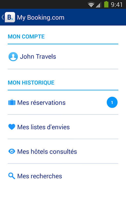 Booking.com - 425 000+  hôtels - screenshot