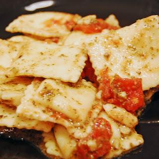 Pesto Tomato Ravioli