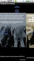 Screenshot of Manga Quotes Flipmag