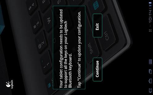 Logitech Keyboard Config App- screenshot thumbnail