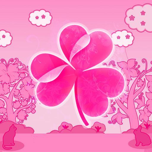 GO桌面EX主題粉紅色的貓 個人化 App LOGO-APP試玩