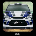 iRally: Rally WRC no FI NASCAR logo