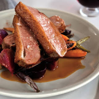 Sicilian Spiced Duck Breast With Preserved Orange.
