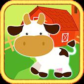 Farm Puzzle Kids Bubble Story