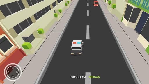 Crazy Cop Traffic Racer 3D