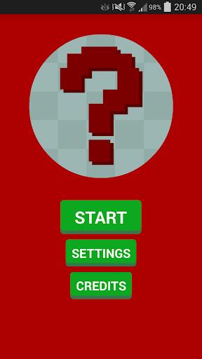 Pixel Guess - Videogame Quiz