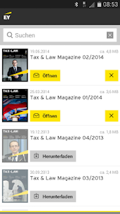 EY Tax & Law DE News- screenshot thumbnail