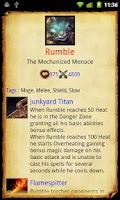 Screenshot of LoL Encyclopedia Lite