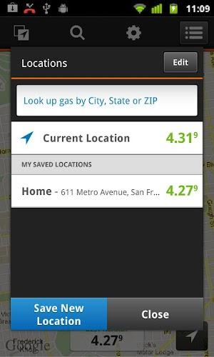 2 Gas Guru: Cheap gas prices App screenshot