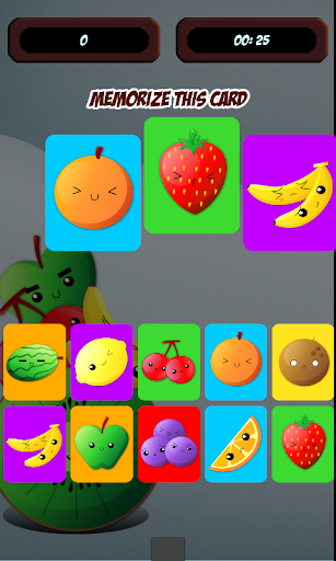 Fruits Sequence Memory