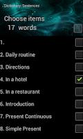 Screenshot of myVocabulary - myApps