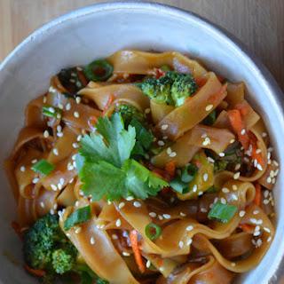 Spicy Thai Noodles.