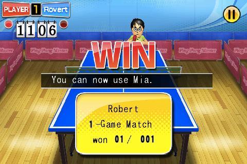 3D Ping Pong Master - screenshot