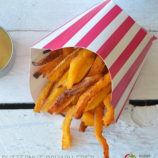 Sweet and Salty Butternut Squash French Fries.