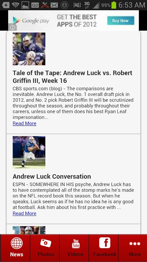 Andrew Luck Fans - screenshot