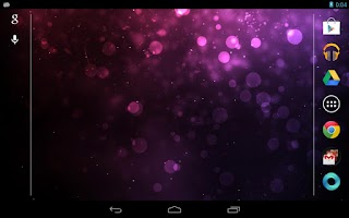 Screenshot of Galaxy Sparkle Live Wallpaper