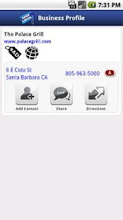 Santa Barbara Yellow Pages- screenshot thumbnail
