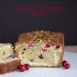 Cranberry Pistachio Bread.