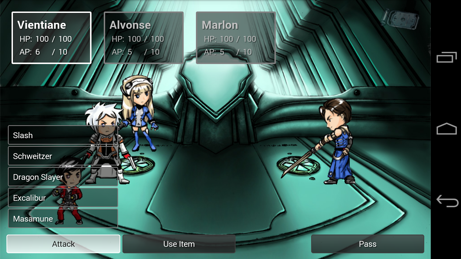 Sage Fusion 2 (RPG VN)- screenshot