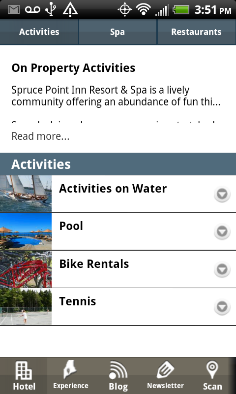 Spruce Point Inn - screenshot