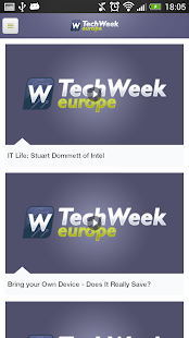 TechWeekEurope.co.uk - screenshot thumbnail