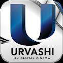 Urvashi Cinemas logo