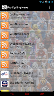 Pro Cycling News - screenshot thumbnail