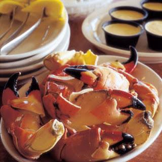 Stone Crab Recipes.