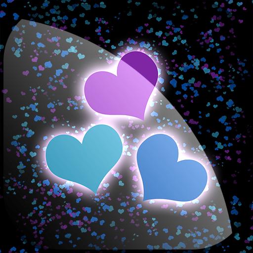 红心动态壁纸免费 個人化 App LOGO-APP試玩