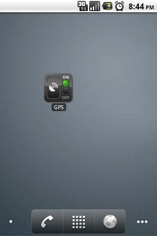 GPS OnOff- screenshot