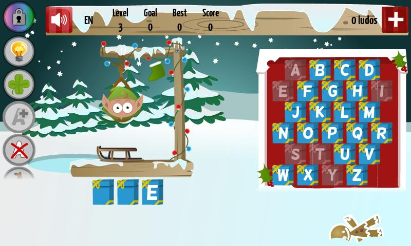 Christmas Hangman Deluxe - screenshot