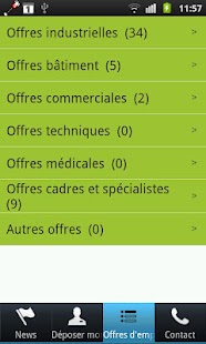 RG Emplois- screenshot thumbnail