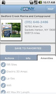 NY Campground & RV Park Guide - screenshot thumbnail