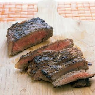 Pan-Seared Steak.