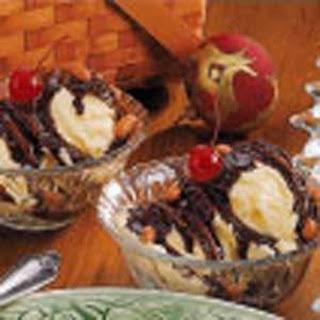 Hot Fudge Sundaes Recipe