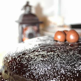 Chocolate Lovers Cake.